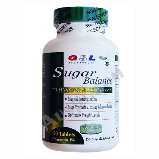 Picture of GSL Sugar Balance - 90 tablets