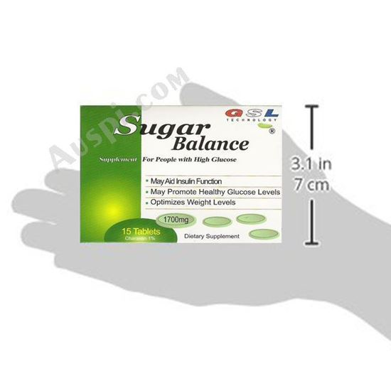 Picture of GSL Sugar Balance - 15 tablets/box